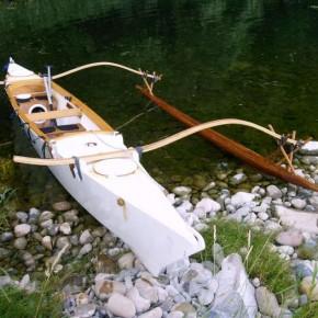 KOLEA 16 ft. paddling outrigger canoe