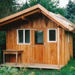 Gartenhaus aus Lärche