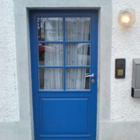 Haustür in einem Altbau in Breisach