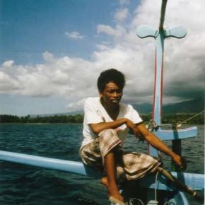 Segeln vor der Küste Balis 1988