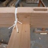 additional deck beam lashing