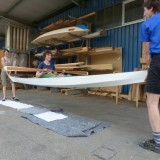 the Greenland kayak can take a lot and weights only 12,4 kg!!!!